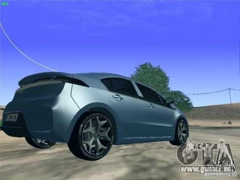 Opel Ampera 2012 pour GTA San Andreas laissé vue