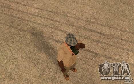 Life pour GTA San Andreas quatrième écran