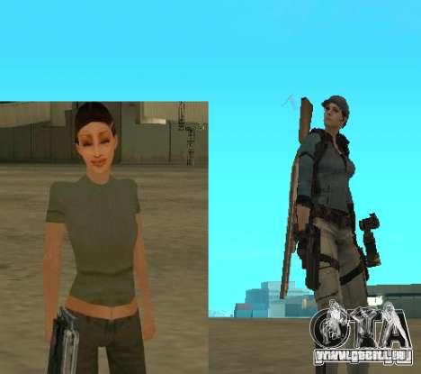 Aktualisierte Pak-Zeichen aus Resident Evil 4 für GTA San Andreas