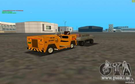 Airport Service Vehicle pour GTA San Andreas