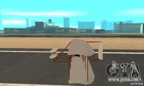 The Wright Flyer für GTA San Andreas linke Ansicht