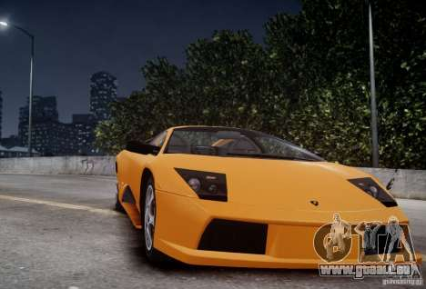 Lamborghini Murcielago für GTA 4 Rückansicht
