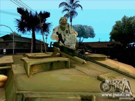 Électronique camouflage Morpeh pour GTA San Andreas cinquième écran