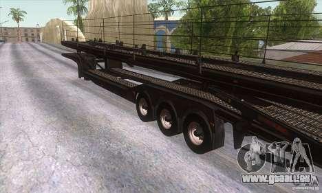 Der Trailer-truck für GTA San Andreas rechten Ansicht