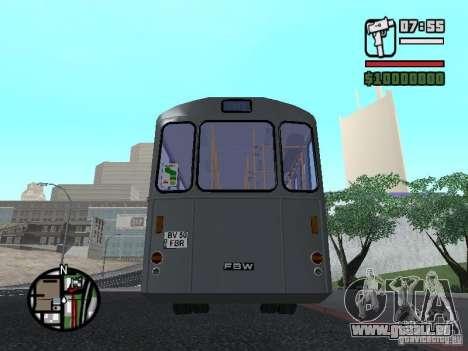 FBW Hess 91U für GTA San Andreas Seitenansicht