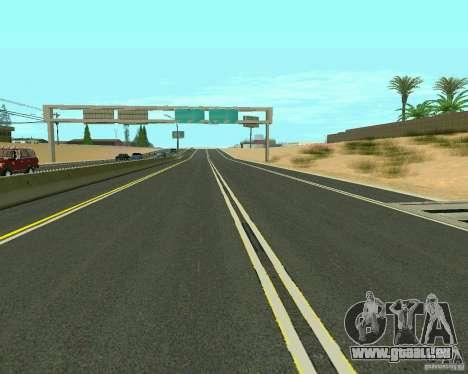 GTA 4 Road Las Venturas für GTA San Andreas achten Screenshot
