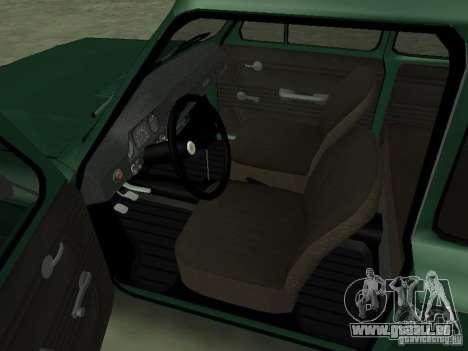 ZAZ-968 m für GTA San Andreas Rückansicht