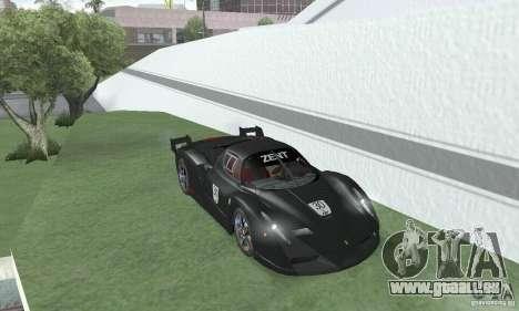Ferrari FXX pour GTA San Andreas vue arrière