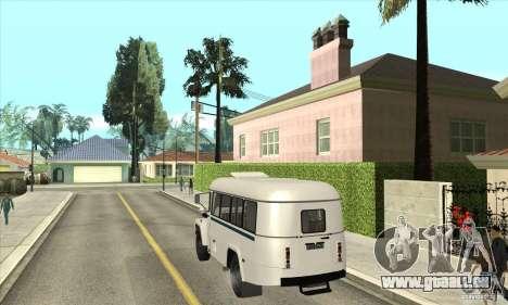 KAVZ-39766 für GTA San Andreas zurück linke Ansicht