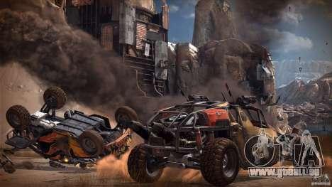Menus et écrans de chargement RAGE pour GTA San Andreas