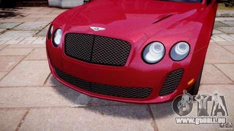 Bentley Continental SS v2.1 pour GTA 4 est un côté