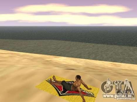 Natte de repos pour GTA San Andreas sixième écran