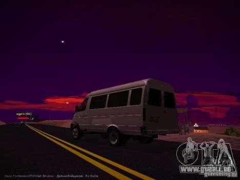 Gazelle 32213 Business v1.0 pour GTA San Andreas vue de droite