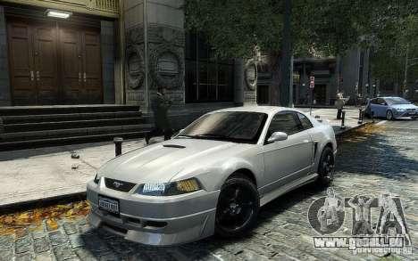 Ford Mustang Cobra R pour GTA 4 Vue arrière de la gauche