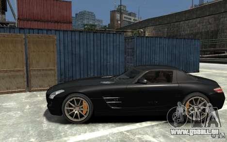 Mercedes-Benz SLS AMG 2011 v3.0 für GTA 4 linke Ansicht