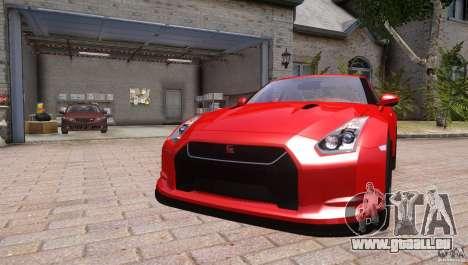 Nissan GTR R35 v1.0 pour GTA 4 est un droit