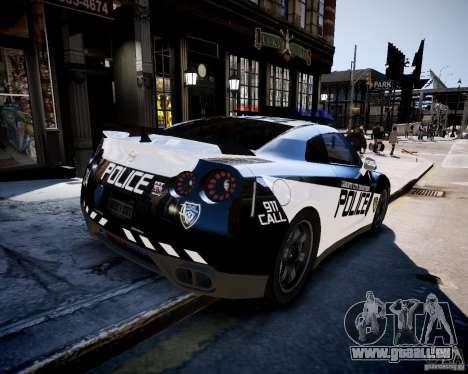 Nissan Spec GT-R Enforcer für GTA 4 linke Ansicht