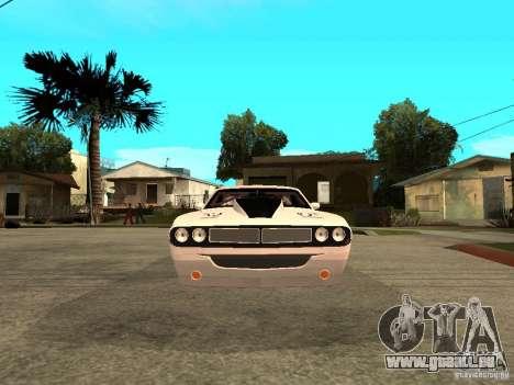 Dodge Challenger Speed 1971 pour GTA San Andreas vue de droite