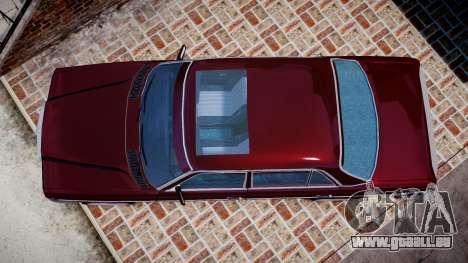 Mercedes-Benz 230E 1976 Tuning für GTA 4 rechte Ansicht