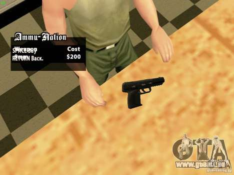 Five-Seven MW3 für GTA San Andreas