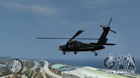 U.S. Air Force (annihilator) für GTA 4 hinten links Ansicht
