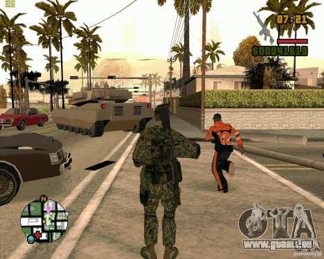 Nouveaux soldats pour GTA San Andreas troisième écran