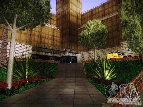 Le nouvel hôpital de Los Santos pour GTA San Andreas troisième écran