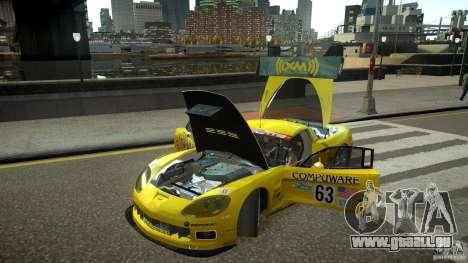 Chevrolet Corvette C6-R v2.0 für GTA 4 Rückansicht