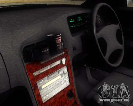 Toyota Mark II GX90 v.1.1 für GTA San Andreas Rückansicht