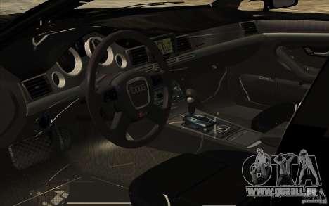 Audi A8l W12 6.0 pour GTA San Andreas vue de côté