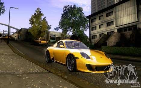 Ruf RK Coupe V1.0 2006 pour GTA San Andreas vue de côté