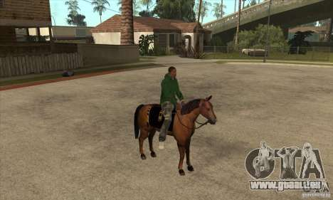 Cheval pour GTA San Andreas