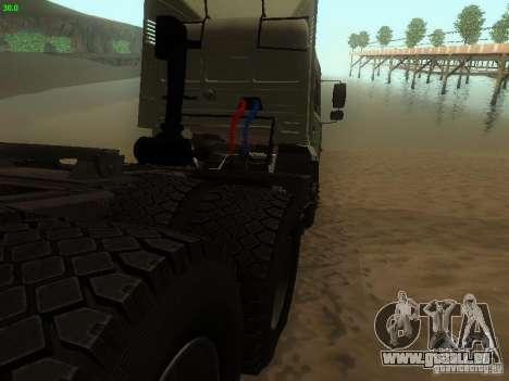KAMAZ 6460 pour GTA San Andreas vue de droite