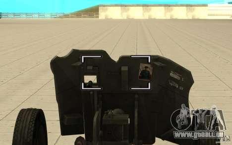 Regiment Waffe, 53-45 mm für GTA San Andreas rechten Ansicht