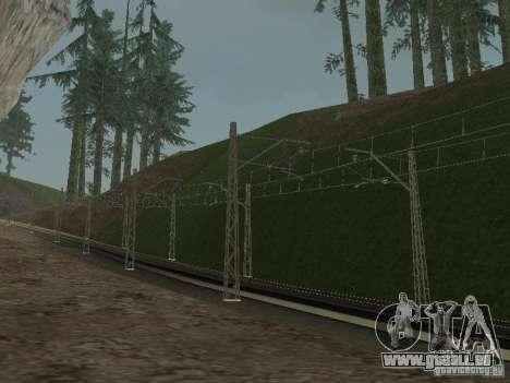 Réseau de contacts pour GTA San Andreas quatrième écran