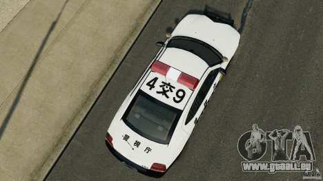 Dodge Charger Japanese Police [ELS] für GTA 4 rechte Ansicht