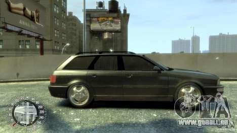 Audi RS2 Avant pour GTA 4 Vue arrière de la gauche