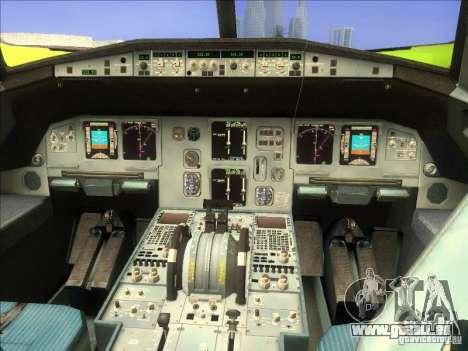 Airbus A-320 S7Airlines für GTA San Andreas rechten Ansicht