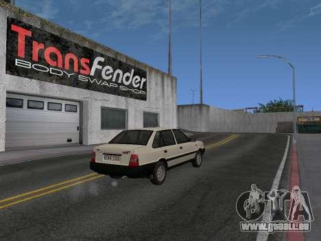FSO Polonez Atu 1.4 GLI 16v pour GTA San Andreas laissé vue