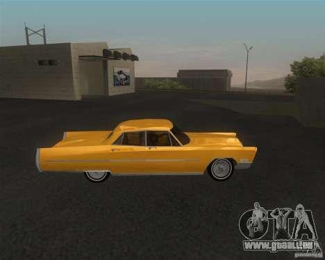 Cadillac Fleetwood Sixty Special 1967 für GTA San Andreas zurück linke Ansicht