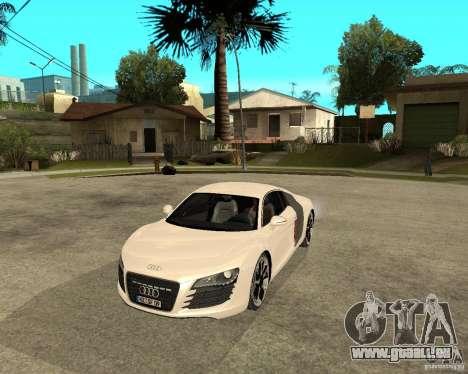 Audi R8 light tunable für GTA San Andreas