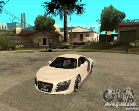 Audi R8 light tunable pour GTA San Andreas