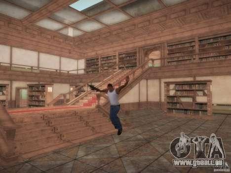 Bibliothek-Karte von Point Blank für GTA San Andreas
