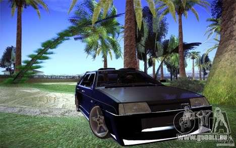 VAZ 2109 Carbon für GTA San Andreas rechten Ansicht