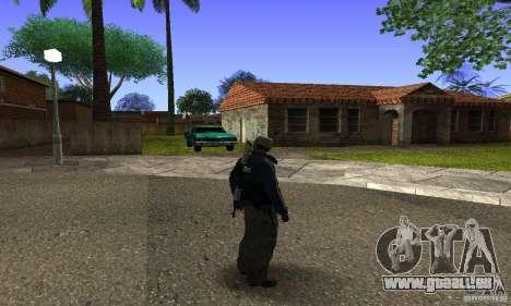 Grove Street v1.0 pour GTA San Andreas deuxième écran