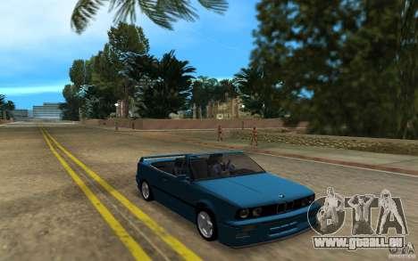 BMW M3 E30 Cabrio für GTA Vice City linke Ansicht