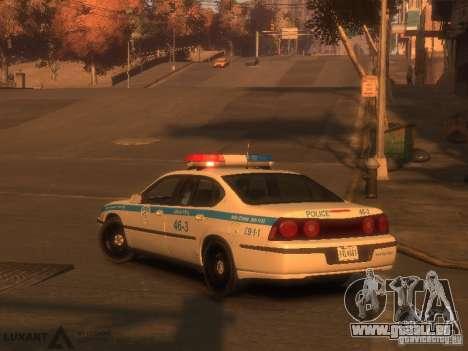 Chevrolet Impala Police 2003 für GTA 4 linke Ansicht