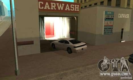 Lave-auto pour GTA San Andreas