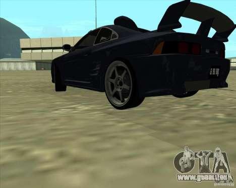 Toyota MR2 1994 für GTA San Andreas Seitenansicht