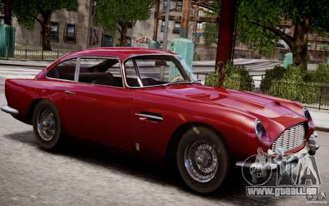 Aston Martin DB5 1964 pour le moteur de GTA 4